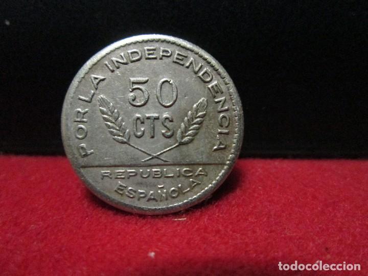 50 CENTIMOS 1937 CONSEJO MUNICIPAL SANTANDER PALENCIA Y BURGOS (Numismática - España Modernas y Contemporáneas - República)
