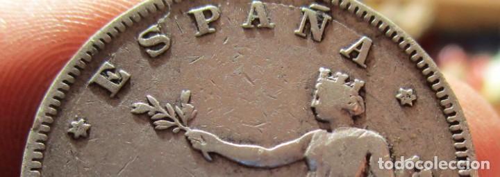 Münzen der Zweiten Republik: 2 PESTAS DE 1870 DE GRAN CALIDAD . - Foto 3 - 146946294