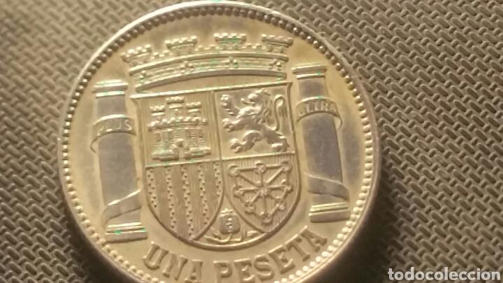 MONEDA DE PLATA DE LA REPUBLICA 1 PESETA 1933 (Numismatik - Moderne und zeitgenössische spanische Münzen - Zweite Spanische Republik)