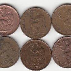 Monedas República: II REPUBLICA: 50 CENTIMOS 1937 ( 10 MONEDAS ). Lote 147612066