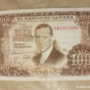 Monedas República: BILLETE DE ESPAÑA DE 100 PESETAS DE 1953 SERIE 3Q CIRCULADO JULIO ROMERO DE TORRES. Lote 147632062