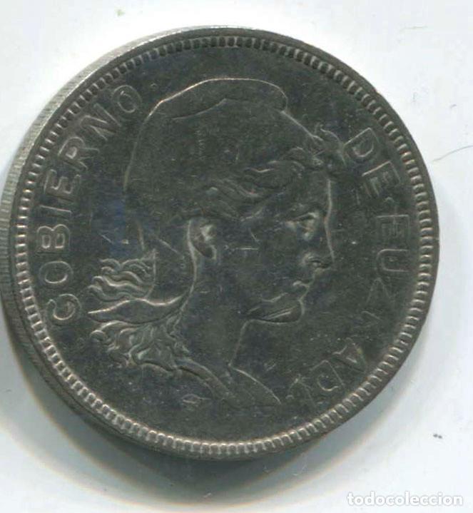 Monedas República: DOS MONEDAS DE 1 PESETA Y 2 pesetas de Euzkadi, 1937. REPÚBLICA ESPAÑOLA - Foto 5 - 147632282