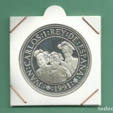 Monedas República: PLATA-ESPAÑA. 2000 PESETAS 1991. V CENTENARIO. FEDERMAN, BENALÁZAR Y QUESADA. 27 GR DE LEY 0,925. Lote 181933015