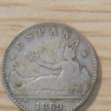 Monedas República: 50 CENTIMOS 1869 GOBIERNO PROVISIONAL. Lote 148773477