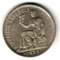 Moedas República: ESPAÑA 1 PESETA PLATA 1933 *3* *4* II REPUBLICA ESPAÑOLA 1934. Lote 178037528