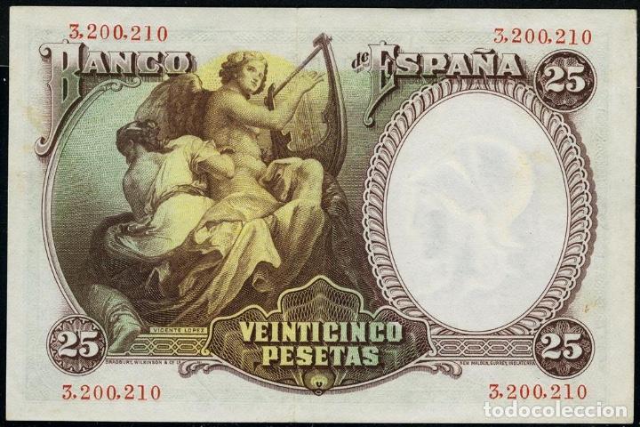 Monedas República: 1931 billete 25 ptas SC++ Numeración sin serie - Foto 2 - 155727386