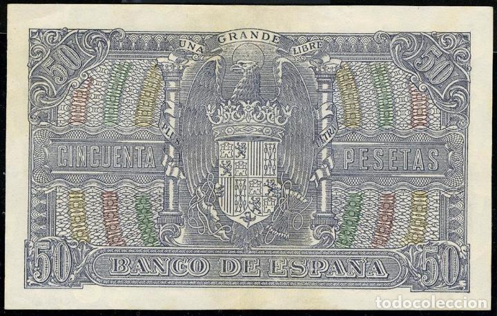 Monedas República: 1940 billete 50 ptas SC++ No.Serie: C - Foto 2 - 155729946