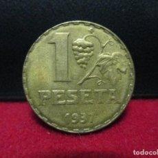 Monedas República: 1 PESETA 1937 REPUBLICA ESPAÑOLA. Lote 156542586