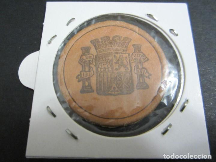 Monedas República: 15 céntimos de la 2ª república en cartón moneda - Foto 2 - 158866890