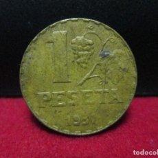 Monedas República: 1 PESETA 1937 REPUBLICA ESPAÑOLA. Lote 159878166