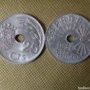 Monedas República: LOTE 25 CÉNTIMOS ESPAÑA 1937 SIN CIRCULAR.. Lote 161244630