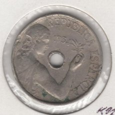 Monedas República: 1934 REPUBLICA 25 CÉNTIMOS DE PESETA MADRID. Lote 164026874