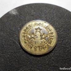 Monedas República: MAGNIFICA MONEDA ANTIGUA SOCIEDAD COOPERATIVA OBRERA MODELO DEL SIGLO XX (SANS) 1928 5CTS. Lote 165539502