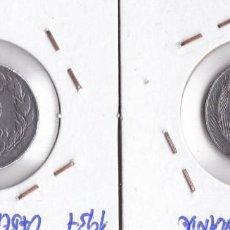 Monedas República: SEGUNDA REPÚBLICA : 5 CÉNTIMOS 1937( VARIANTES CABEZA GRANDE Y PEQUEÑA ) BONITAS. Lote 166022746