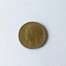 Monedas República: MONEDA 1 PESETA 1937 II REPÚBLICA. Lote 167074402