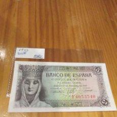 Monedas República: 5 PESETAS DE 1943. Lote 171513852