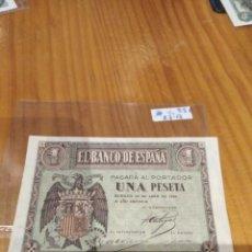 Monedas República: 1 PESETA DE 1938. Lote 171515730