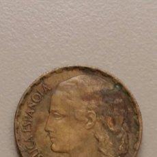 Monedas República: MONEDA DE 1 PESETA. REPÚBLICA ESPAÑOLA. 1937. Lote 173740485