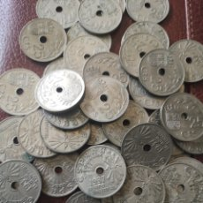 Monedas República: MONEDA 25 CÉNTIMOS 1937 PATINA ORIGINAL TOTAL 50. Lote 178025878