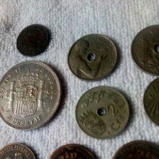 Monedas República: LOTE DIEZ MONEDAS VARIAS. Lote 179107628