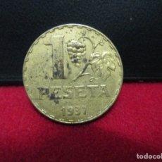 Monedas República: 1 PESETA 1937 REPUBLICA ESPAÑOLA EBC. Lote 182199496
