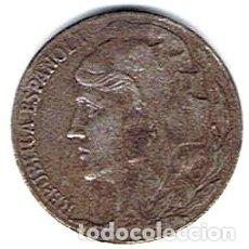Monedas República: 5 CÉNTIMOS REPÚBLICA ESPAÑOLA 1937 (HIERRO).. Lote 182753030