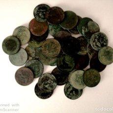 Monedas República: LOTE DE 39 MONEDAS DE DIEZ CENTIMOS AÑO 1870.. Lote 183546960
