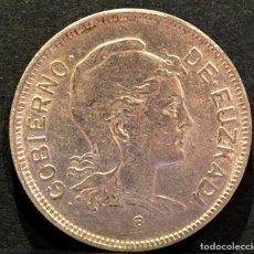 Monedas República: 2 PESETAS 1937 GOBIERNO DE EUZKADI NIKEL GUERRA CIVIL REPUBLICA ESPAÑA. Lote 124422914
