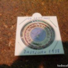 Monedas República: MONEDA CARTON DE CASTELLON DE 60 CENTIMOS 1936. Lote 184668361