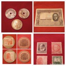 Monedas República: LOTE REPÚBLICA ESPAÑOLA. LEER DESCRIPCIÓN,VER FOTOS. Lote 187470528