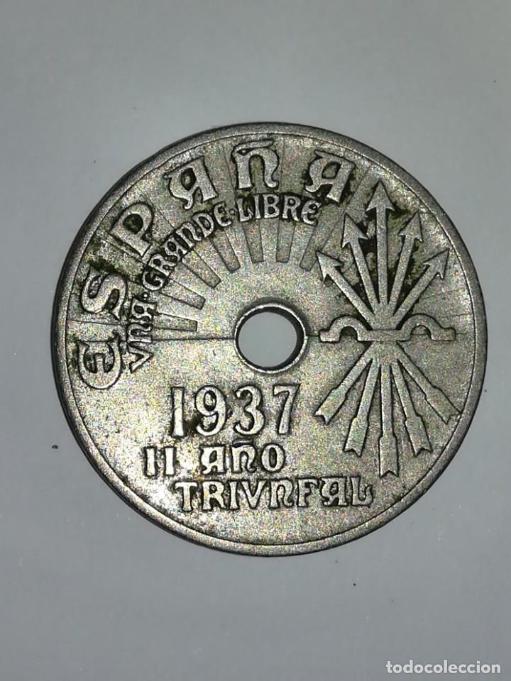 25 CÉNTIMOS DE 1937 DE LA SEGUNDA REPÚBLICA (Numismática - España Modernas y Contemporáneas - República)