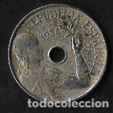 Monedas República: MONEDA DE 25 CENTIMOS - 1934. Lote 191798567
