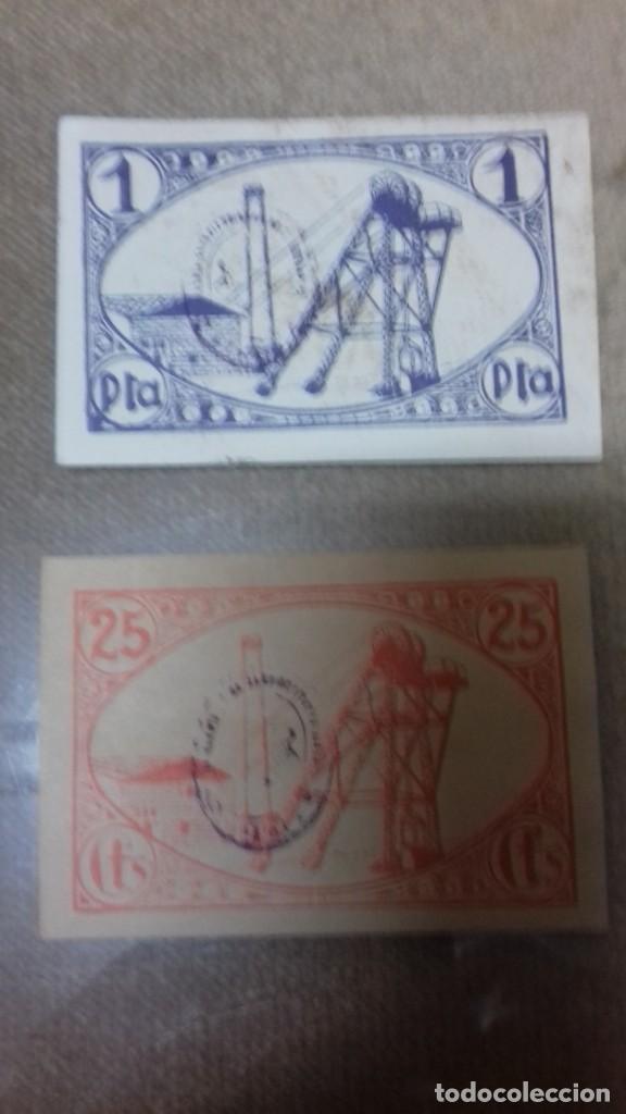 Monedas República: Lote de dos billetes locales de LINARES - Foto 15 - 192835097