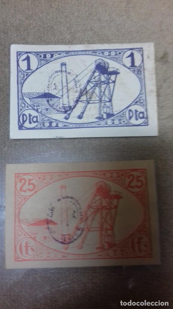 Monedas República: Lote de dos billetes locales de LINARES - Foto 16 - 192835097