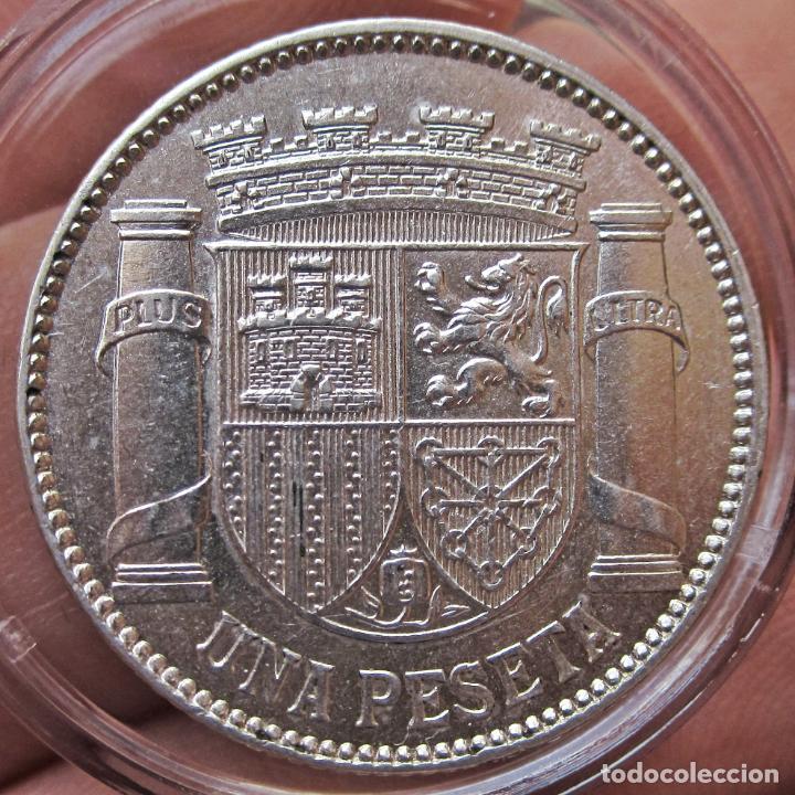 Monedas República: EXCELENTE PESETA 1933 (*3*4). II REPÚBLICA. SC-/SC - Foto 5 - 194539842