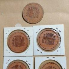 Monedas República: LOTE MONEDAS CARTÓN REPÚBLICA. Lote 195141850