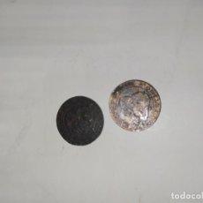 Monedas República: DOS MONEDAS 1870 PRIMERA REPUBLICA. Lote 195524238