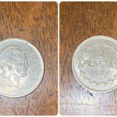 Monedas República: MONEDA. GOBIERNO DE EUSKADI. 2 PESETAS. 1937. VER FOTOS. Lote 198706480