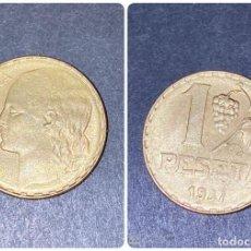Monedas República: MONEDA. ESPAÑA. 1 PESETA. 1937. S/C. VER FOTOS. Lote 198988256