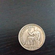 Monedas República: MONEDA 50 CÉNTIMOS 1937. REPÚBLICA ESPAÑOLA. Lote 199036612
