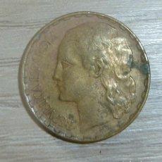 Monedas República: MONEDA REPUBLICA ESPAÑA 1 PESETA 1937. Lote 200190233
