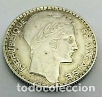 """Monedas República: PLATA PESO 10 GRAMOS FRANCIA AÑO 1933 -MONEDA 10 FRANCOS- *TIPOTURIN* 10 GRAMOS KM#878(3ª REPUBLICA"""" - Foto 3 - 222617483"""