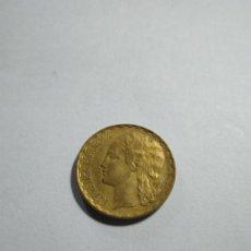 Monedas República: 1 PESETA REPÚBLICA ESPAÑOLA AÑO 1937. LATÓN. UNA PESETA. ESPAÑA. Lote 201232058