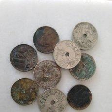 Monedas República: BONITO LOTE MONEDA GUERRA CIVIL 1937. Lote 201323305