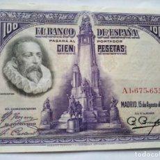 Monedas República: 100 PESETAS BANCO ESPAÑA 1928. Lote 202001192