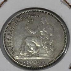 Monedas República: MONEDA DE PLATA UNA PESETA 1933 SEGUNDA REPÚBLICA *3*4 BUENA CONSERVACIÓN. Lote 202630205