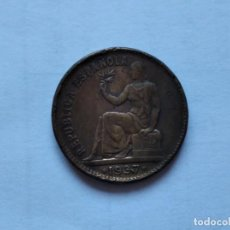 Monedas República: 50 CENTIMOS REPUBLICA 1937 * 3. 4. Lote 203074298