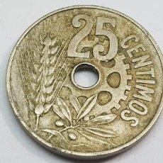 Monedas República: 25 CÉNTIMOS 1934 MBC+. Lote 204987555