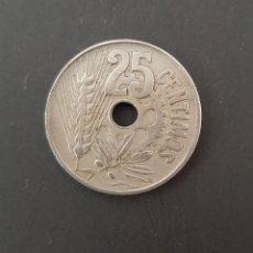 Monedas República: MONEDA 25 CENTIMOS DE 1934. Lote 206190068