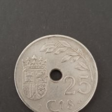 Monedas República: MONEDA 25 CÉNTIMOS DE 1937. Lote 206190413